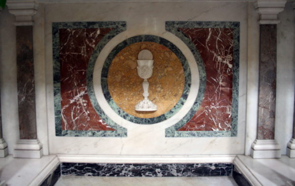 Particolare altare San Giovanni Bosco