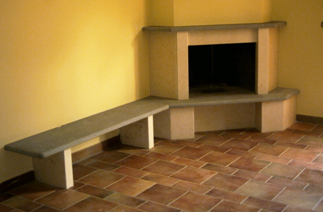 Arredi e rivestimenti per interni in marmo - Piastrelle in pietra lavica ...